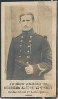 Gesneuveld WO I - VAN HOUT Henricus Alfons ° Herselt 1885 + Tegen Brug Sint-Joris En Mannekensvere 14 Oktober 1914 - Religion & Esotérisme