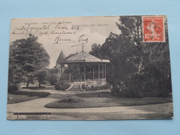 Jardin Public - Le Kiosque ( Poirier Frères ) Anno 1914 ( Voir Photo ) ! - Mayenne