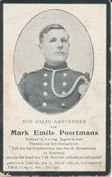 Oorlog WO I - POORTMANS Mark Emile ° Gelrode 1889 + Titulé (Congo) 2 Mei 1920 - Religion & Esotérisme