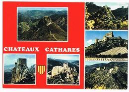 CP 09 Ariège - Les Châteaux Cathares - Montségur - Quéribus - Peyrepertuse - Durfort - Aguilar - Lastours - Other Municipalities