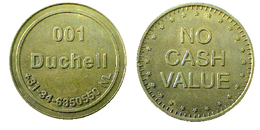 03609 GETTONE TOKEN JETON NETHERLANDS 001 DUCHELL NO CASH VALUE SPORT EQUIPMENT - Unclassified