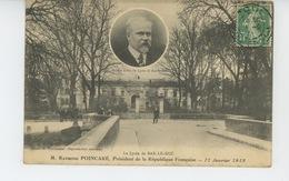 BAR LE DUC - Le Lycée Avec Portrait De M. RAYMOND POINCARÉ, Ancien élève Du Lycée - Bar Le Duc