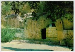 THE  GARDEN  TOMB   JERUSALEM         2 SCAN       (VIAGGIATA) - Israele