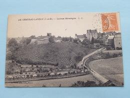 Castrum Mérovingien ( 306 - Coffin ) Anno 1927 ( Voir Photo ) ! - Chateau Landon
