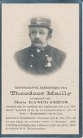 Doodsprentje Theodoor Mailly Echtg. Danckaerts °Oudenbosch (Nl) 1859 + Aarschot 1923 - Religion & Esotérisme