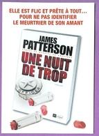 UNE NUIT DE TROP : Carte Postale Livre De James Patterson - N°1 Du Suspense - Livres