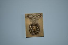 Médaille Professeur Guillaume Louis 1938 F.Bazin - Other Collections