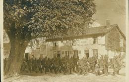 08 SENUC /Militaires Allemands Auberge Au Rendez-vous Des Pêcheurs / CARTE PHOTO RARE - France