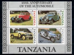 1986 - TANZANIA  - Catg. Mi. BL 53 - NH - (ST330.517.40) - Tanzania (1964-...)