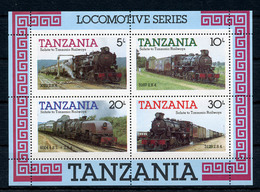 1985 - TANZANIA  - Catg. Mi. BL 44 - NH - (ST330.517.40) - Tanzania (1964-...)