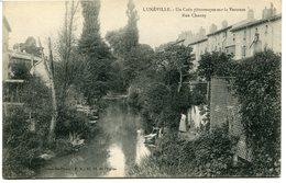 CPA - Carte Postale - France - Lunéville - Un Coin Pittoresque Sur La Vezouze - Rue Chanzy  (CPV838) - Luneville