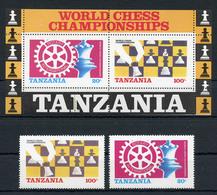 1985 - TANZANIA  - Catg. Mi. 313/314 + BL 54 - NH - (ST330.517.40) - Tanzania (1964-...)