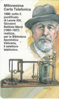 VATICAN - Milionesima Carta Telefonica(47), Tirage 24900, Exp.date 01/05/00, Mint - Vatican
