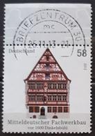 ALEMANIA 2012 Half Timbered Buildings - Bad Münstereifel, 1644-1664. USADO - USED. - Gebraucht