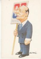 Jacques Chirac  ,vue Par Vanni Tealdi - Uomini Politici E Militari