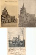 Hakendover : Kerk ---- 3 Kaarten - Tienen