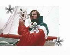 PHOTO (RETIRAGE) HISTOIRE CONTEMPORAINE DE LA VOILE 1982 ROUTE DE RHUM ALAIN PAJOT VAINQUEUR ... - Reproductions