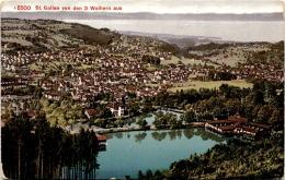 ST. Gallen Von Den 3 Weihern Aus (5500) - SG St. Gallen