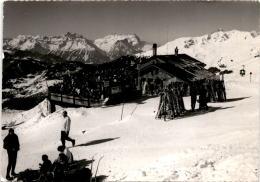 Verbier - Restaurant Des Ruinettes (7027) * 8. IV. 1966 - VS Wallis
