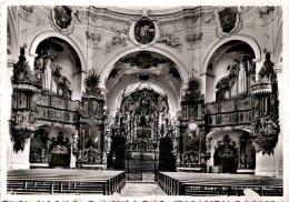 Inneres Der Klosterkirche Muri (7147) * 12. 8. 1949 - AG Aargau