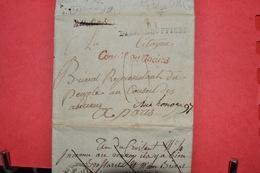 LETTRE  PERIODE REVOLUTIONNAIRE   CACHET PIERRE BUFFIERE 81 CONSEILS DES ANCIENS 1798 - 1792-1815: Conquered Departments