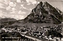 Glarus Mit Glärnisch (2666) * 2. 8. 1957 - GL Glarus