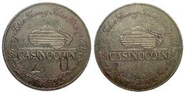 03123 GETTONE TOKEN JETON GAMING CASINO COIN BRASS - Casino