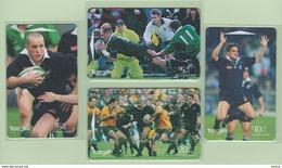 New Zealand - 1998 All Blacks Rugby Set (4) - NZ-G-185/88 - Very Fine Used - New Zealand