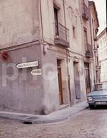 1967 COCHE RENAULT 10 SALAMANCA ESPANA SPAIN 18mm DIAPOSITIVE AMATEUR SLIDE Not PHOTO FOTO B2660 - Diapositives (slides)