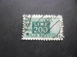 ITALIE Colis Postaux N°83 Partie Droite Filigrane étoile Oblitéré - 1946-.. République