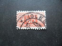 ITALIE Colis Postaux N°78 Partie Droite Filigrane étoile Oblitéré - 1946-.. République