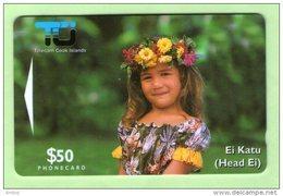 Cook Islands - 1995 Second Issue $50 Ei Katu - COK5 - Mint - Isole Cook