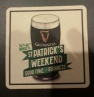MALTA GUINNESS ST. PATRICK DAY MATT  2018 - Beer Mats