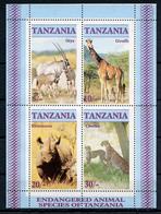 1989. TANZANIA - Catg. MI. BL 58 - NH - (AE.....) - Tanzania (1964-...)