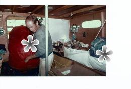 PHOTO (RETIRAGE) HISTOIRE CONTEMPORAINE DE LA VOILE ROUTE DU RHUM 1978 SEUL EN MER  ..... ... ... - Reproductions
