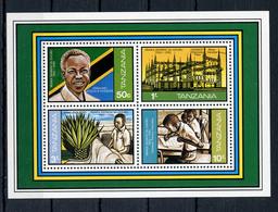 1982. TANZANIA - Catg. MI. BL 28 - NH - (AE.....) - Tanzania (1964-...)