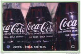 Great Britain - DIT - 1995 Coca Cola - £2 Coke Bottles - Mint - Advertising