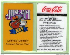USA - HTT - 1995 June Jam - Coca Cola 10u - Mint - United States