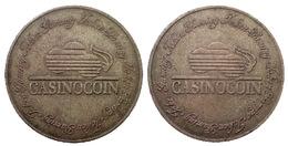 03123b GETTONE TOKEN JETON GAMING CASINO COIN BRASS - Casino
