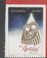 COLOMBIA, 2017, MNH, CHRISTMAS, 1v - Christmas