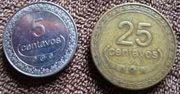 Timor - 5 E 25  Centavos - 2010 E 2004 - KM 2 E 4 - Timor