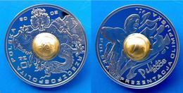 POLONIA 10 Z 2008 ARGENTO PROOF DRAGONE OLYMPIC GAMES PALLANUOTO PESO 15,5g. TITOLO 0,925. CONSERVAZIONE FONDO SPECCHIO - Polonia