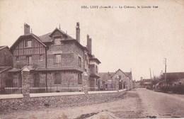 77 LISSY  Coin Du VILLAGE  Vue Sur Le CHATEAU  Maisons Clocher De L' EGLISE Grande Rue Timbre - Francia