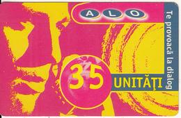 ROMANIA - ALO Prepaid Card 35 Units(paper), Exp.date 12/02, Used - Romania