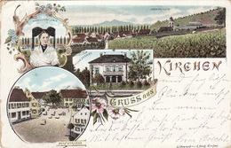Gruss Aus Kirchen - 1897 - Loerrach