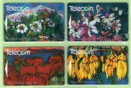 New Zealand - 1993 Native Flowres Set (4) - NZ-G-74/7 - Very Fine Used - Neuseeland