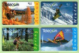 New Zealand - 1994 Four Seasons Set (4) - NZ-G-94/7 - Very Fine Used - New Zealand