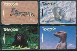New Zealand - 1991 Animals Set (4) - NZ-G-33/36 - Very Fine Used - Neuseeland