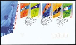 Australia Sydney 2000 / Paralympic Games / Basketball, Cycling, Tennis, Athletics / FDC - Sommer 2000: Sydney - Paralympics