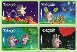 New Zealand - 1992 Bogor Cartoons Set (4) - NZ-G-54/7 - Very Fine Used - New Zealand